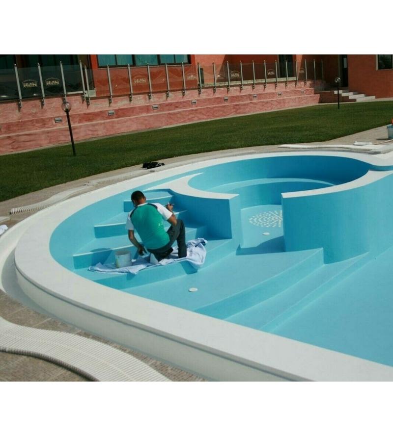 Clorocaucciù per piscine